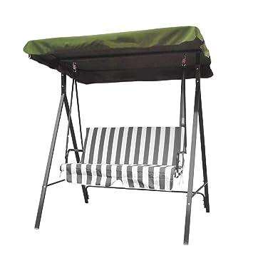 dDanke Toldo de repuesto para silla de jardín de 2 o 3 plazas ...