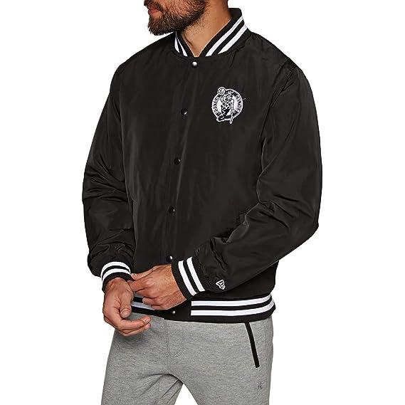 A NEW ERA ERA ERA ERA ERA ERA Era Boston Celtics Blanco y Negro Equipo Vestir NBA Chaqueta: Amazon.es: Deportes y aire libre