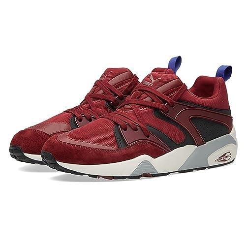 Puma - Zapatillas para Hombre Rojo Granate 41 EU: Amazon.es: Zapatos y complementos