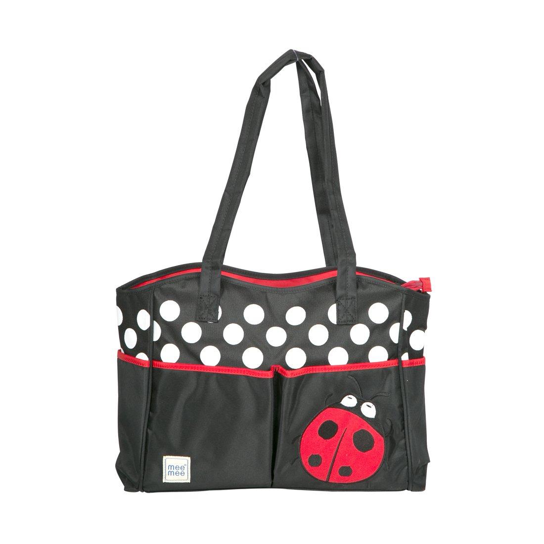Mee Mee Multi Functional Nursery Bag  Red  Diaper Bags