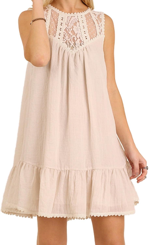Umgee Lace Skirt Size S M L Black White Mini Free Boho People Lined Womens New
