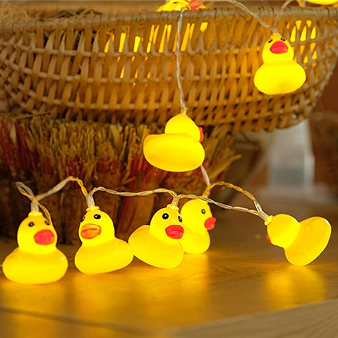 HANGQI 20-LED Cute duck String Fairy Lights Lamp Christmas Party ...