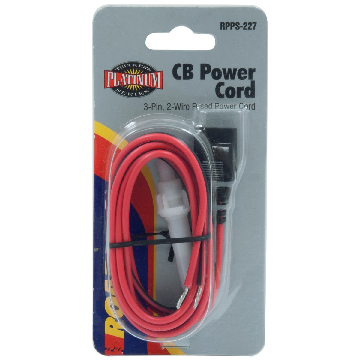 3 Pin 2 Wire Cb Radio Fused Power Cable Automotive Wiring