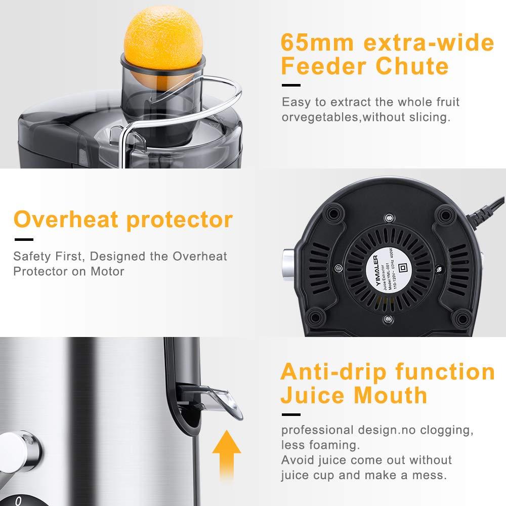 Amazon.com: Yimaler Extractor de zumo, exprimidor de boca ...