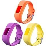 ECSEM Large Bands and Straps Compatible with Garmin vivofit JR & vivofit JR.2 & vivofit 3, [fits 6~8.5 inch Wrists] Small/Large