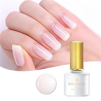Amazon Born Pretty 6ml Nail Art Opal Jelly Gel Polish White Uv