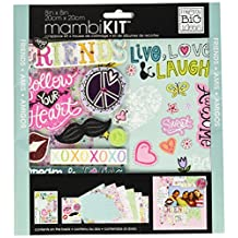 me & my BIG ideas mambiKIT 8-Inch x 8-Inch Scrapbook Page Kit, Friends