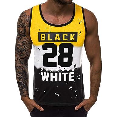 Camisetas sin Mangas de Baloncesto para Hombres, Número 28 ...