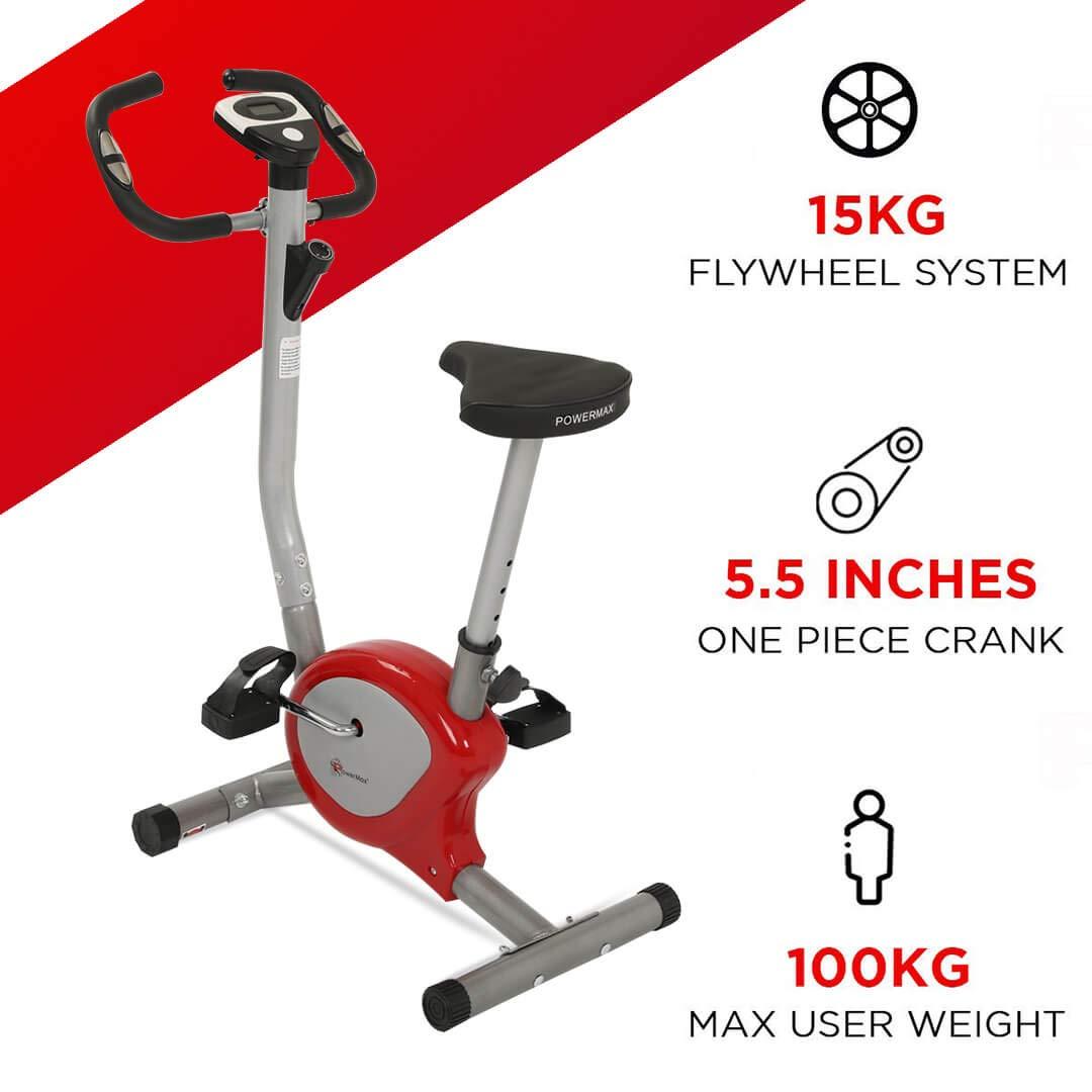 Powermax Fitness BU-200 Upright Bike