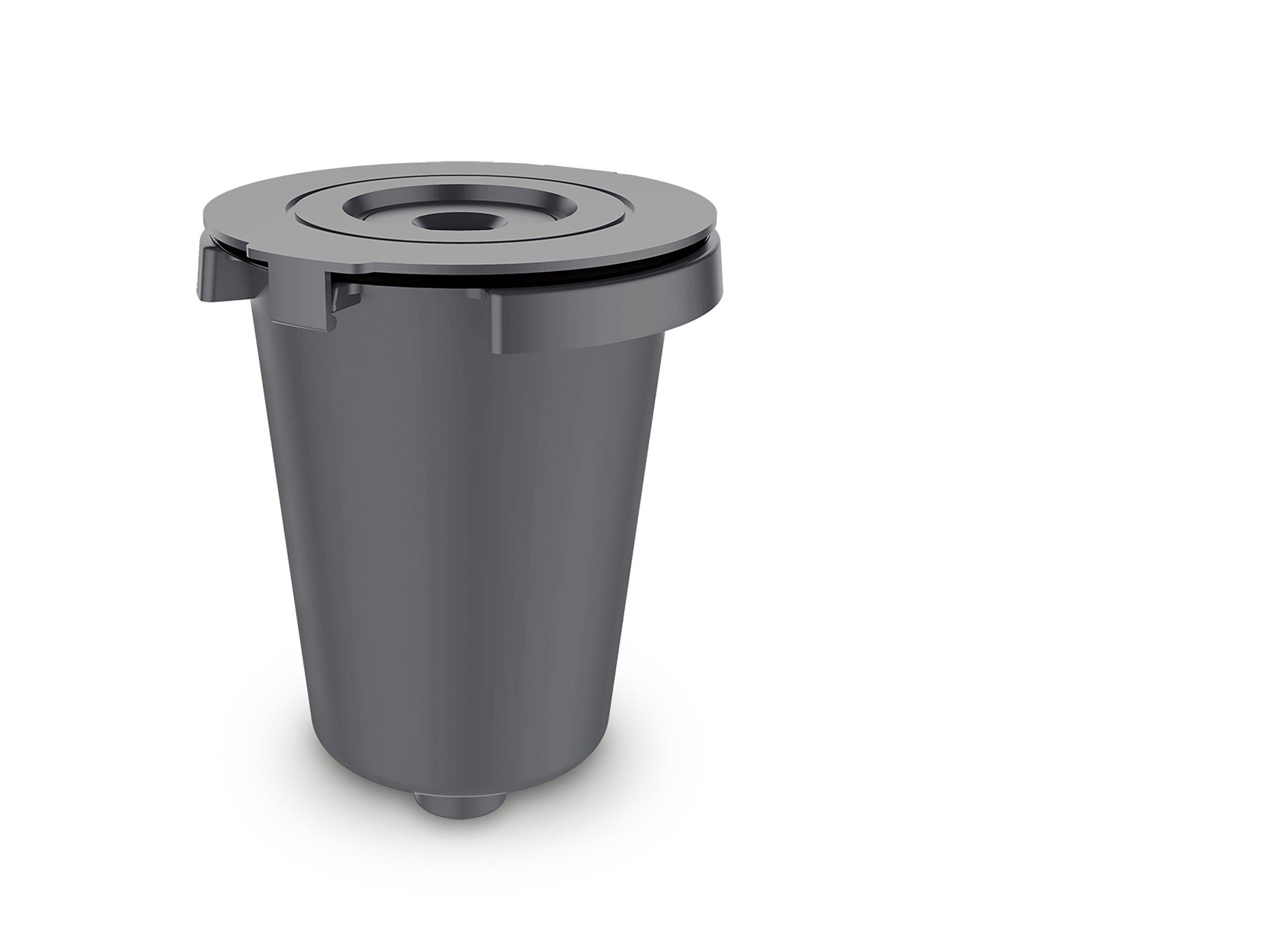 Cuisinart SS-RFC Cuisinart HomeBarista Reusable Filter Cup, Gray