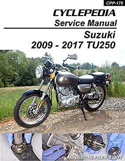 CPP-178-P Suzuki TU250X 2009 - 2017 Motorcycle Printed Service Manual by Cyclepedia