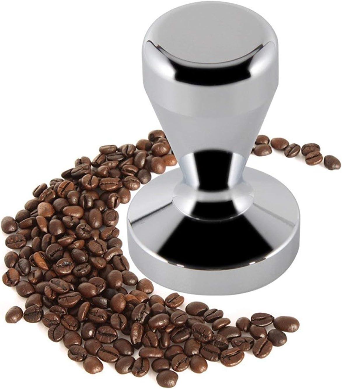 Drucksockel f/ür Edelstahl-Espresso-Manipulationspads DealsEuro Premium Coffee Tamper 58mm