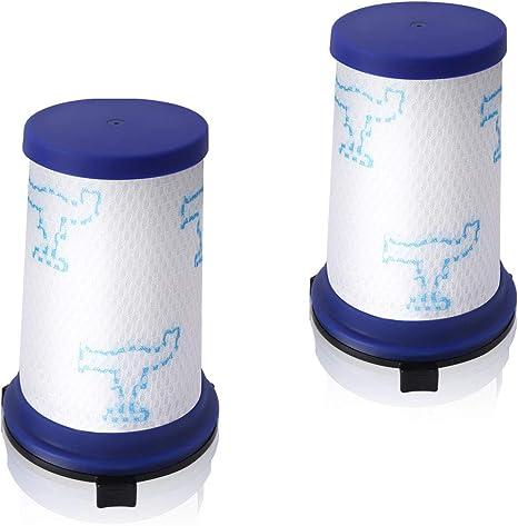 AIEVE Paquete de 2 filtros Filtro Hepa Filtro de Repuesto Filtro de Espuma Accesorios Compatible con la aspiradora Rowenta Air Force 360 Aspiradora Manual: Amazon.es: Grandes electrodomésticos