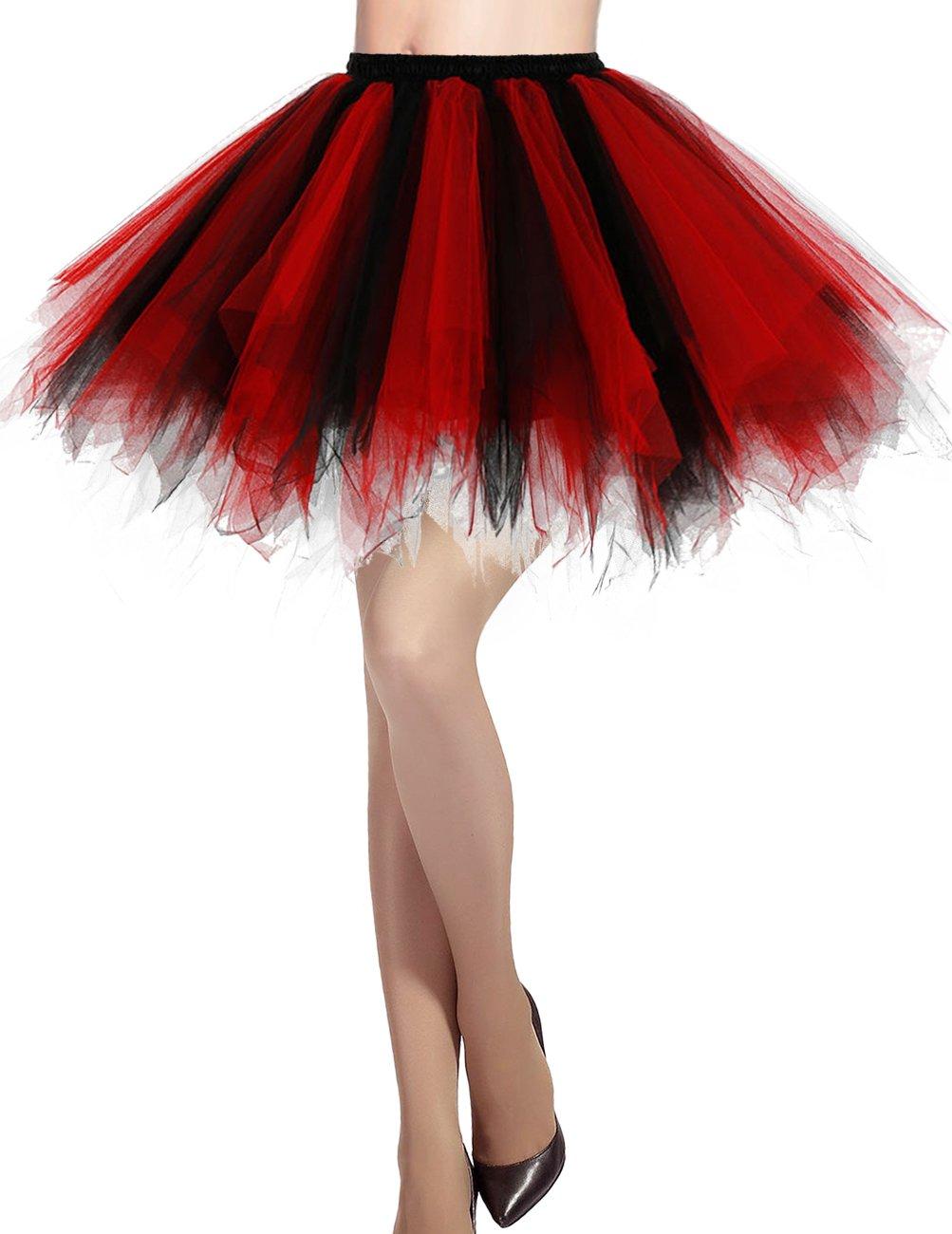 70b1f4e18c801 Dresstells Jupon Jupe Ballet Tutu Court en Tulle Couleurs variées product  image