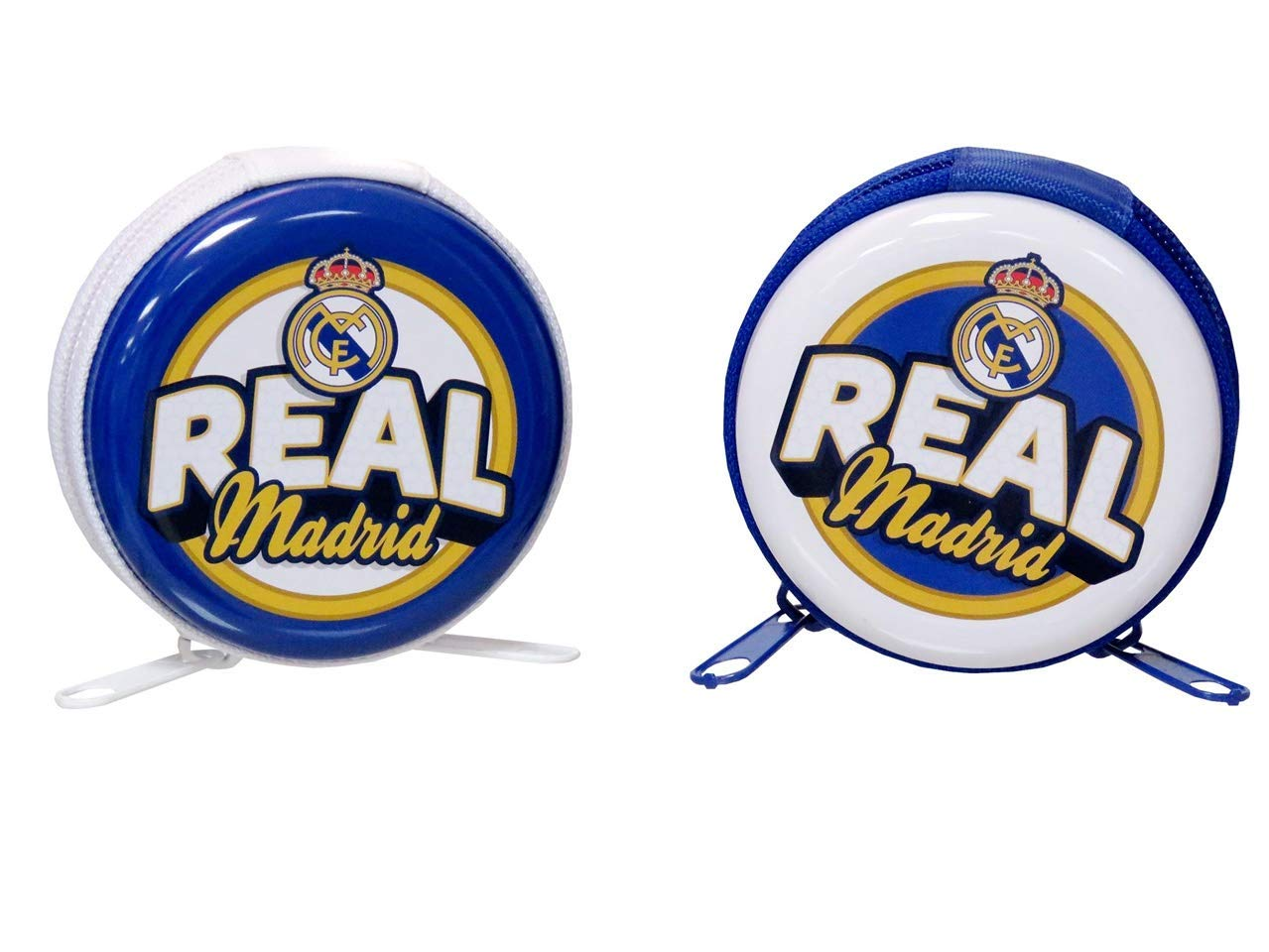 C Y P Monedero DE Metal Redondo Real Madrid MM-30-RM: Amazon ...