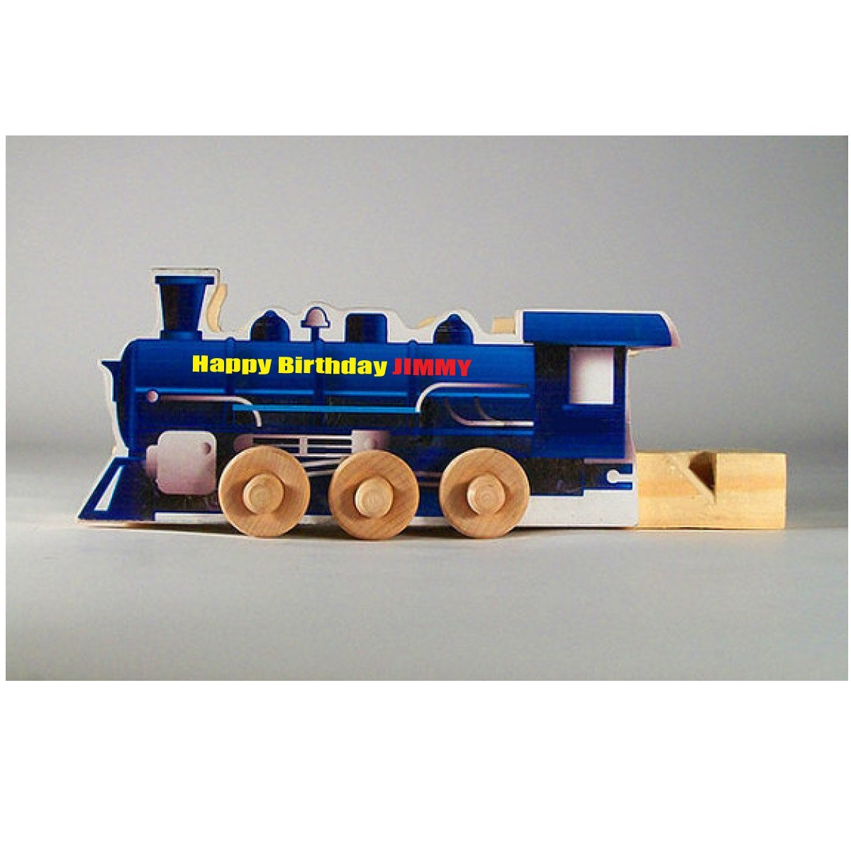 Personalized Wooden Train Whistle