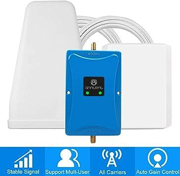ANNTLENT Amplificador de Cobertura móvil de Doble Banda para el hogar: Amazon.es: Electrónica