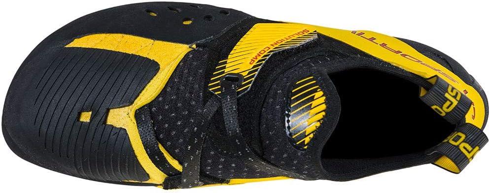 La Sportiva Solution Comp Black Yellow