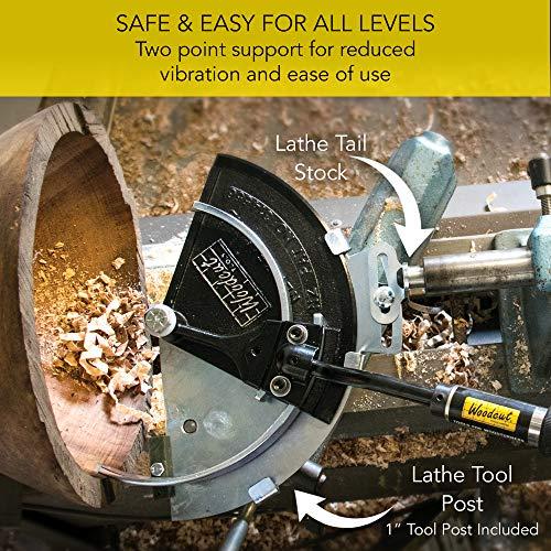 Herramientas para grabar en madera Sistema completo Bowlsaver con dos cuchillas para espacios en blanco de cuencos de extracción de muestras de 3 a 12 en el torno para tornear madera BSVR