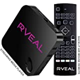 Rveal Streaming Media Player & Backlit Air Mouse Remote