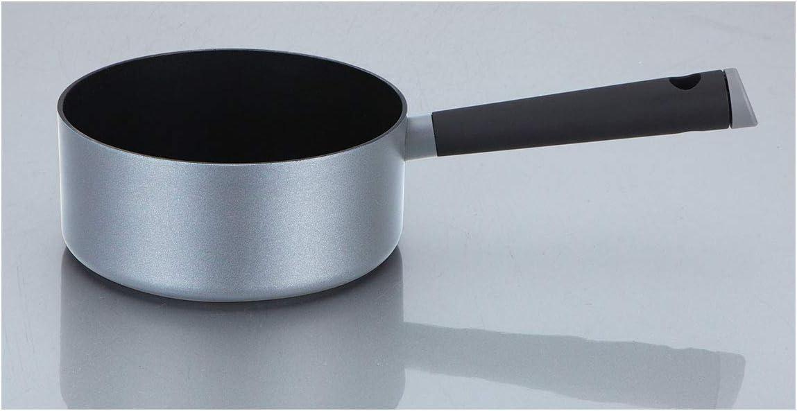 Oroley - Cazo de Cocina Ecológico | Pequeño | para Induccion | Antiadherente | Hecho de Aluminio Prensado | Sin PFOA | 16 cm: Amazon.es: Hogar