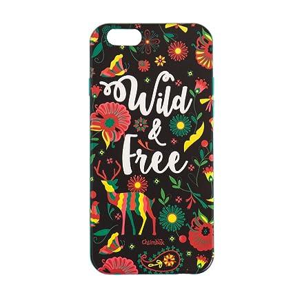 buy popular 29b67 4c047 Chumbak Wild and Free iPhone 6/6s Case: Amazon.in: Electronics