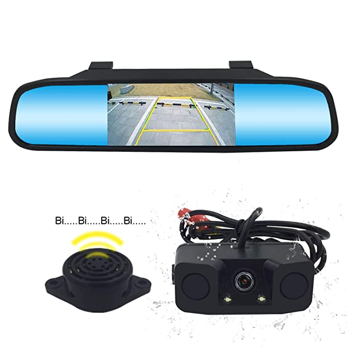 Ebay Motors Vehicle Electronics & Gps Waterproof 170° Car Rear Front Side View Camera Backup Reverse Cam Mirror Image