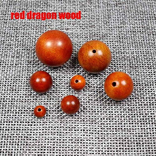 - Best Quality - Beads - 20Pcs/Lot Round Natural Wood Beads 6-20Mm Sandalwood/Rosewood/Padauk Wooden Spacer Beads DIY Jewelry Making Finding - by GTIN - 1 Pcs