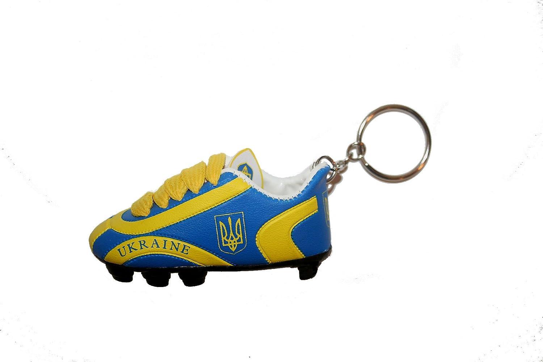 Amazon.com: Bandera de Ucrania azul País Soccer Shoe inglete ...