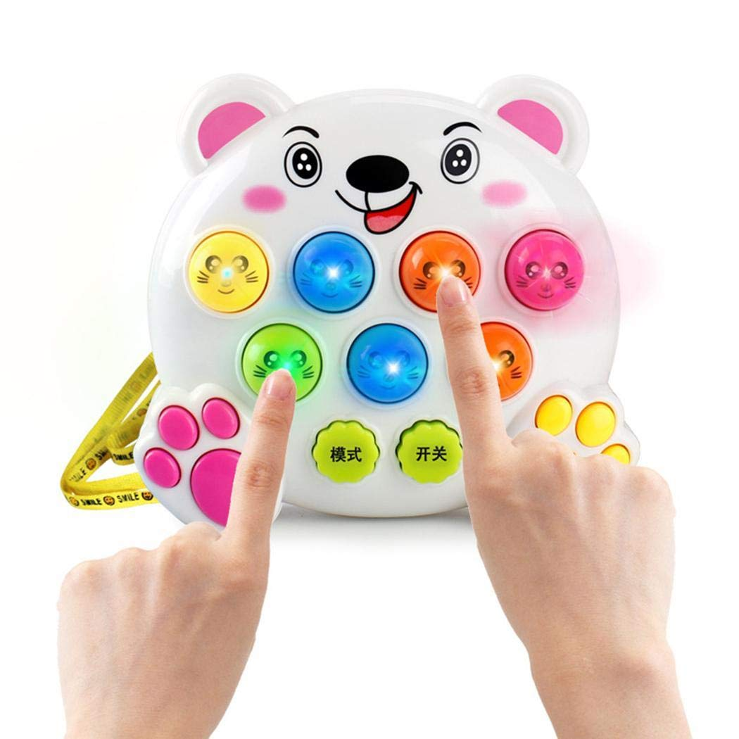 LoveUnder20 Baby Electronic Multifunctional Mole Percussion Handheld Hammer Educational Toy Electronic Systems by LoveUnder20 (Image #4)