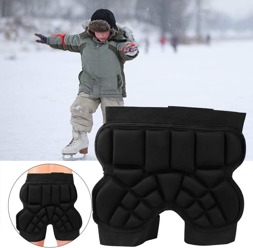 Keenso Kids Hip Protector,Children Roller Skating Butt Pad Anti‑Drop Skating Hip Protection Cushion Sports Guard