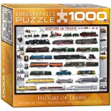 EuroGraphics History of Trains Puzzle (Small Box) (1000-Piece)