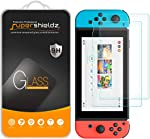 (2 Pack) Supershieldz for Nintendo Switch Tempered Glass Screen Protector, 0.33mm,