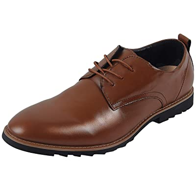 4How Mens Dress Shoes Classic Modern Formal Oxford Retro Leather Shoes for Men | Oxfords