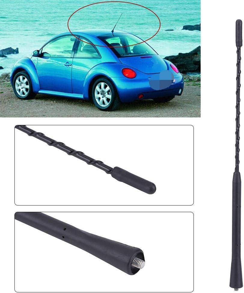KIMISS Antenna per auto accessorio per la sostituzione dellantenna radio FM//AM per montaggio sul tetto dellauto.