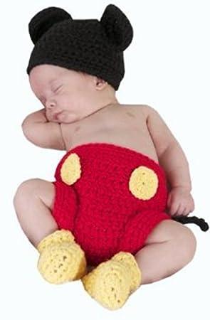 Jastoremickey Mouse Bonita Disfraces para Bebé Fotografía Infantil ...
