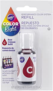 Wilton Right Food Color System Refill, .07 oz, Red #1