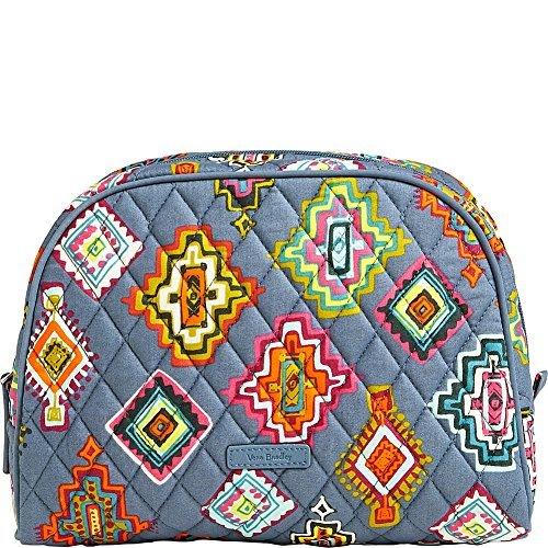 (Vera Bradley Luggage Women's Large Zip Cosmetic Painted Medallions Luggage)