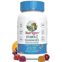 Vitamin C Vegan Gummies Chewable (Plant-Based) by MaryRuth's Organic Ingredients...