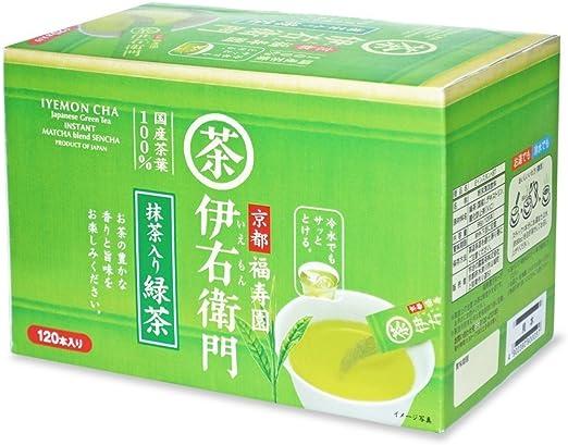 伊右衛門 インスタント 緑茶スティック 120P