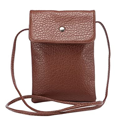 Amazon.com: Bonita bolsa cruzada pequeña para teléfono móvil ...
