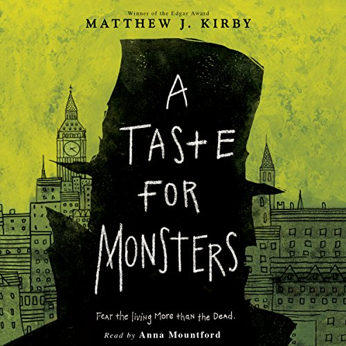 A Taste for Monsters by Scholastic Audio