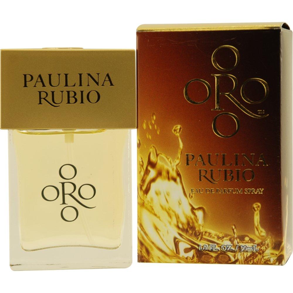 Paulina Rubio Oro Eau de Parfum Spray for Women, 1 Ounce