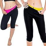 Women's Slim Pants Thermo Neoprene Sweat Sauna Body Shapers Yoga Leggings