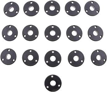Sharplace 16 Pedazos de Cojinetes de Futbolín Pieza de Repuesto de Monopatín de Plasticó: Amazon.es: Deportes y aire libre