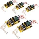 HiLetgo LED 定数電流ドライバー電源 内蔵電源 4W 5W 6W 7W (5個セット) [並行輸入品]