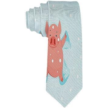 Corbata de patrón de animales para hombre Corbata de seda ...