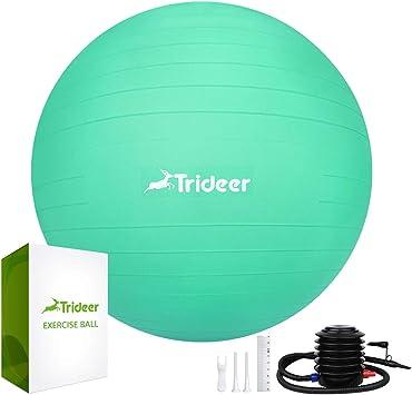Trideer - Pelota de gimnasia gruesa y antirotura, máxima capacidad ...