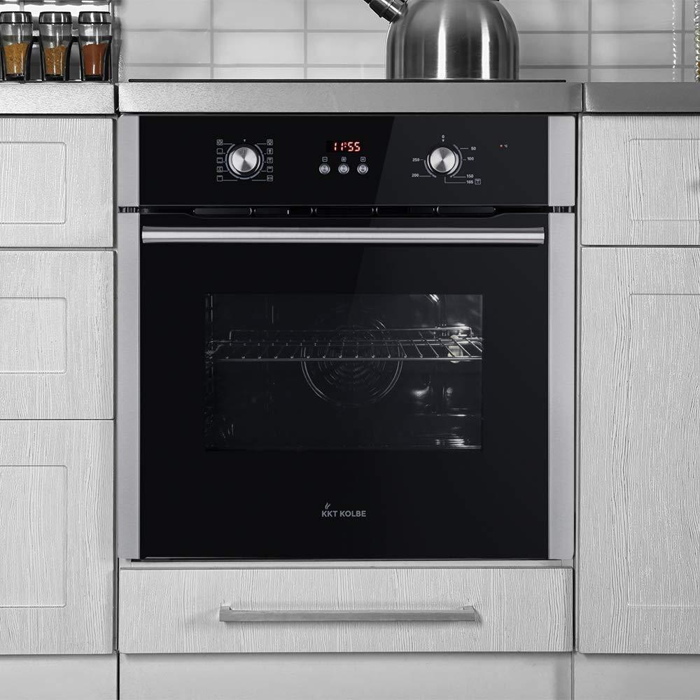 Horno empotrado KKT KOLBE 60cm, 70 l, 2.8kW, aire caliente, sistema parrilla//tostado, sistema de limpieza EB8305ED