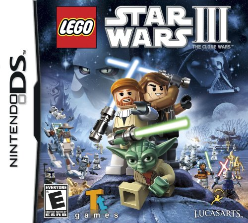 Lego Star Wars III: The Clone Wars - Nintendo DS (Ds Star Wars Games)